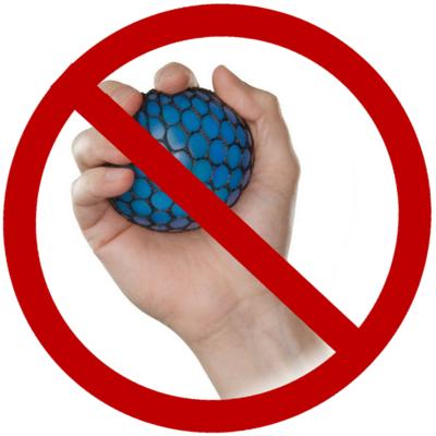 Tutore per la mano emiplegica: no alla pallina antistress