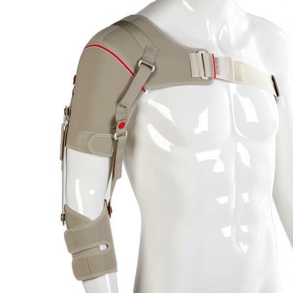 Tutore idoneo alla Sublussazione della spalla