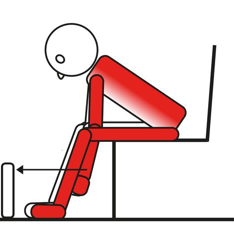Auto mobilizzazione della spalla in basso e in avanti