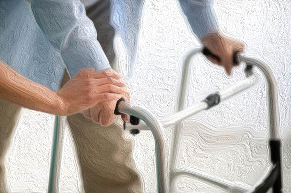 La riabilitazione dopo una frattura nell'anziano